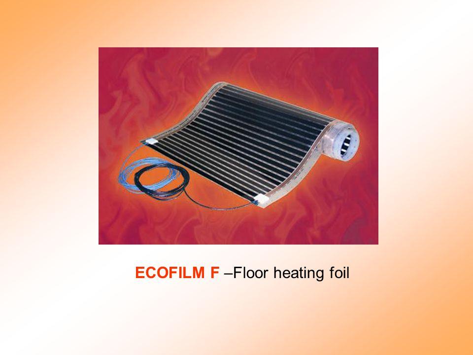 ECOFILM F –Floor heating foil