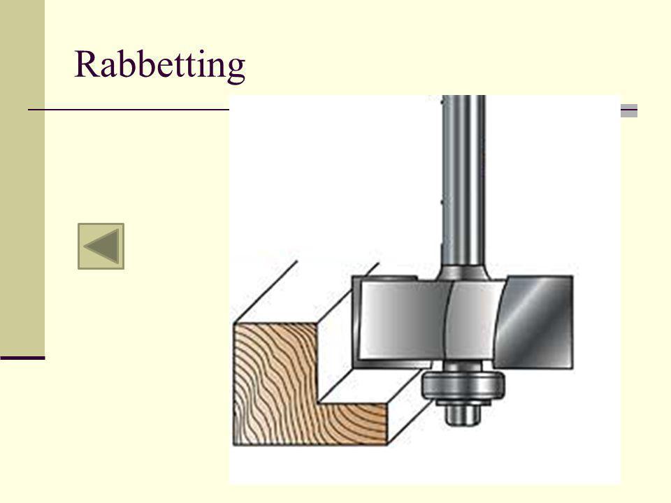Rabbetting