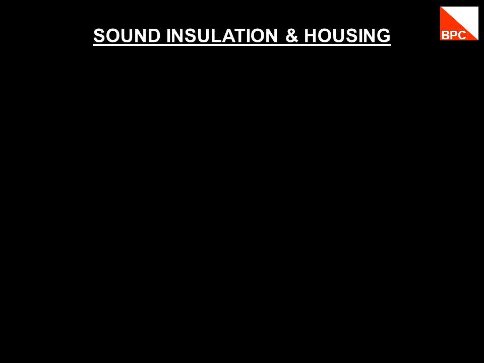 SOUND INSULATION & HOUSING BPC