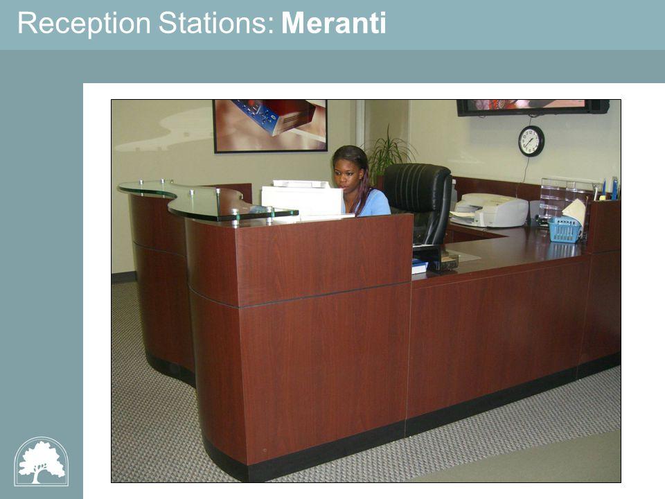 Reception Stations: Meranti