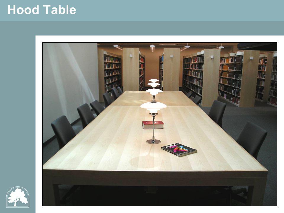 Hood Table