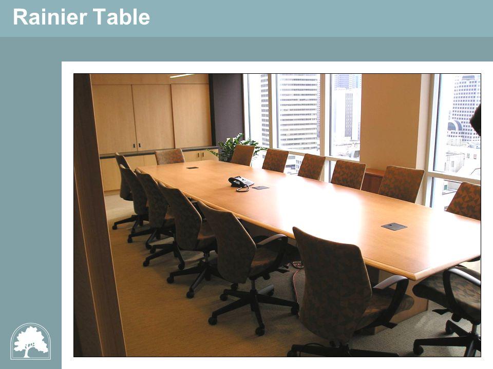 Rainier Table