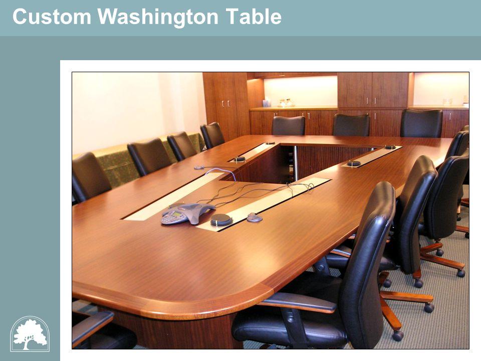 Custom Washington Table