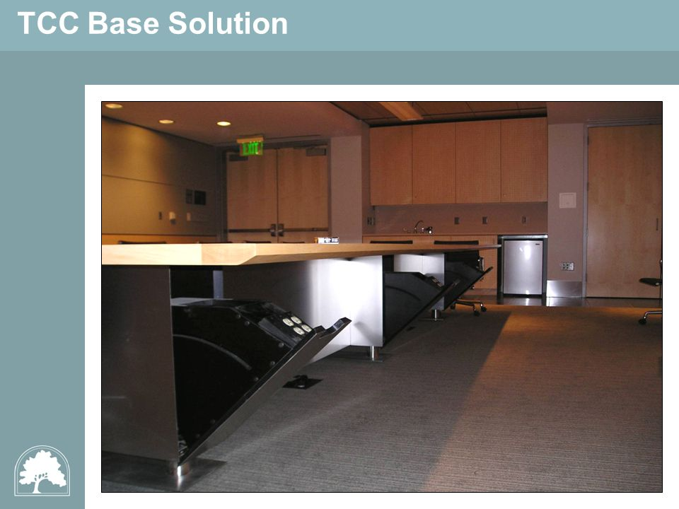 TCC Base Solution