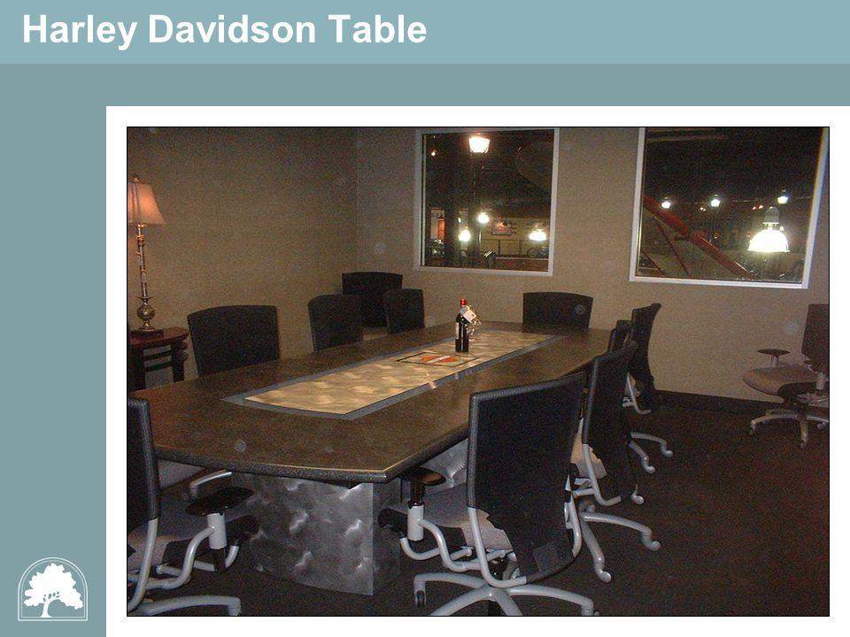 Harley Davidson Table