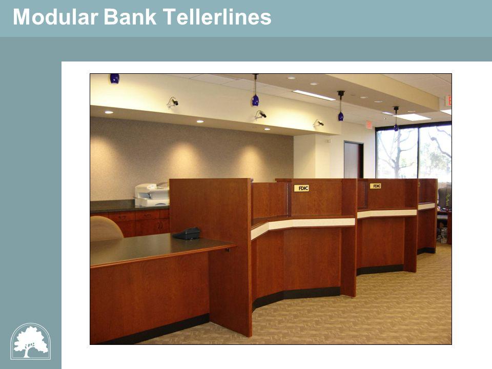 Modular Bank Tellerlines