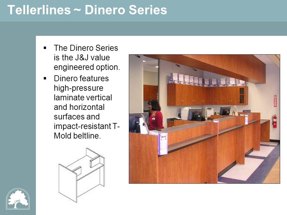 Tellerlines ~ Dinero Series The Dinero Series is the J&J value engineered option.