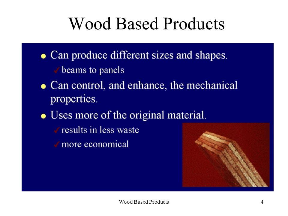 Wood Based Products35 Laminated Lumber