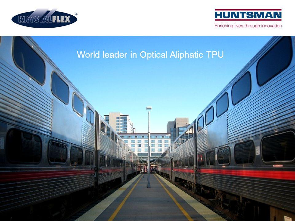 World leader in Optical Aliphatic TPU