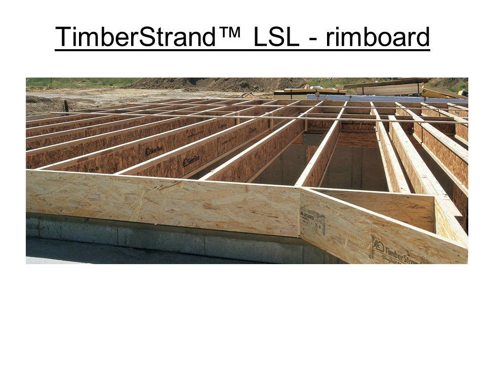 TimberStrand LSL - rimboard