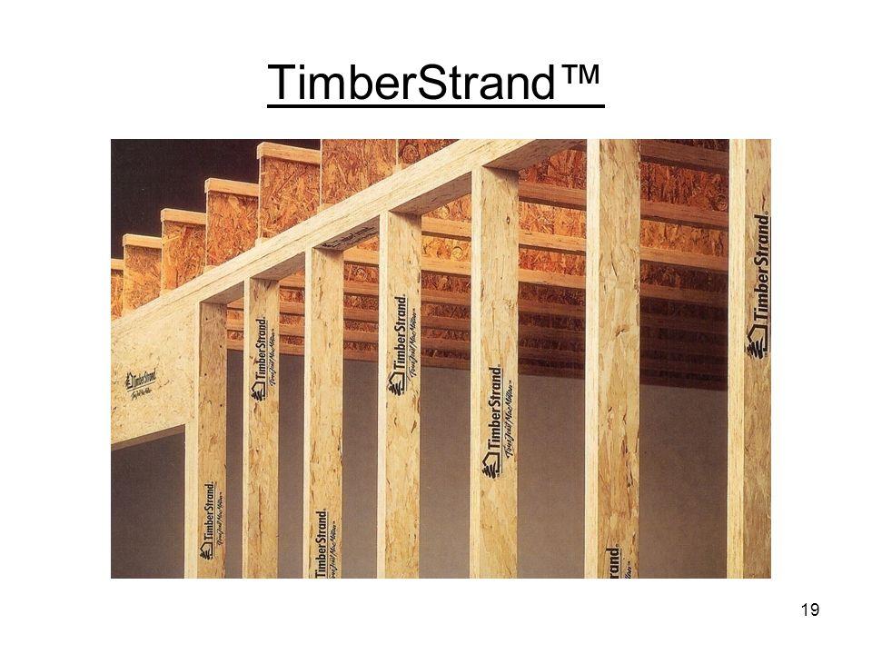 TimberStrand LSL – light framing