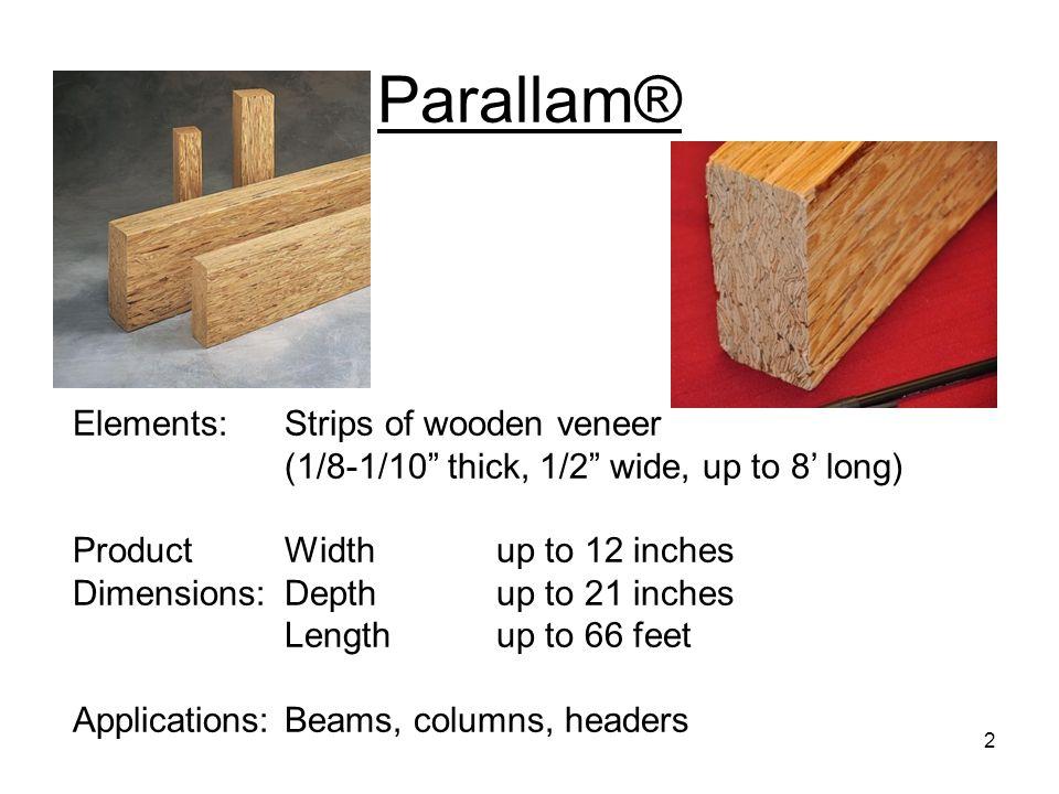 Parallel Strand Lumber