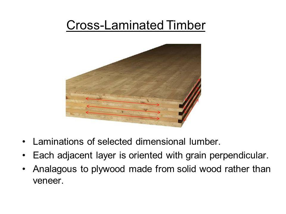 Cross-Laminated Timber Structurlam