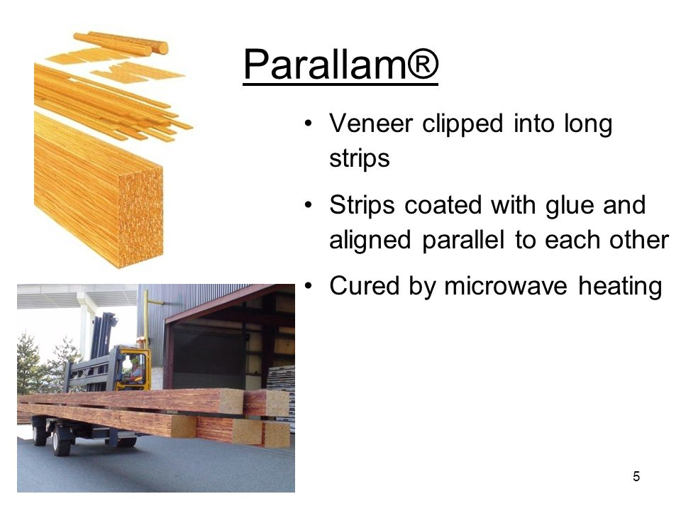 Parallam® PSL – short strand elimination