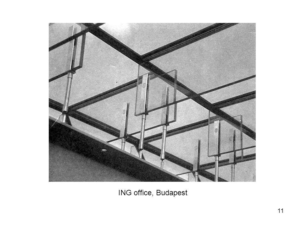 12 Glass museum, Kings Wingford, England, PVB laminated roof beams