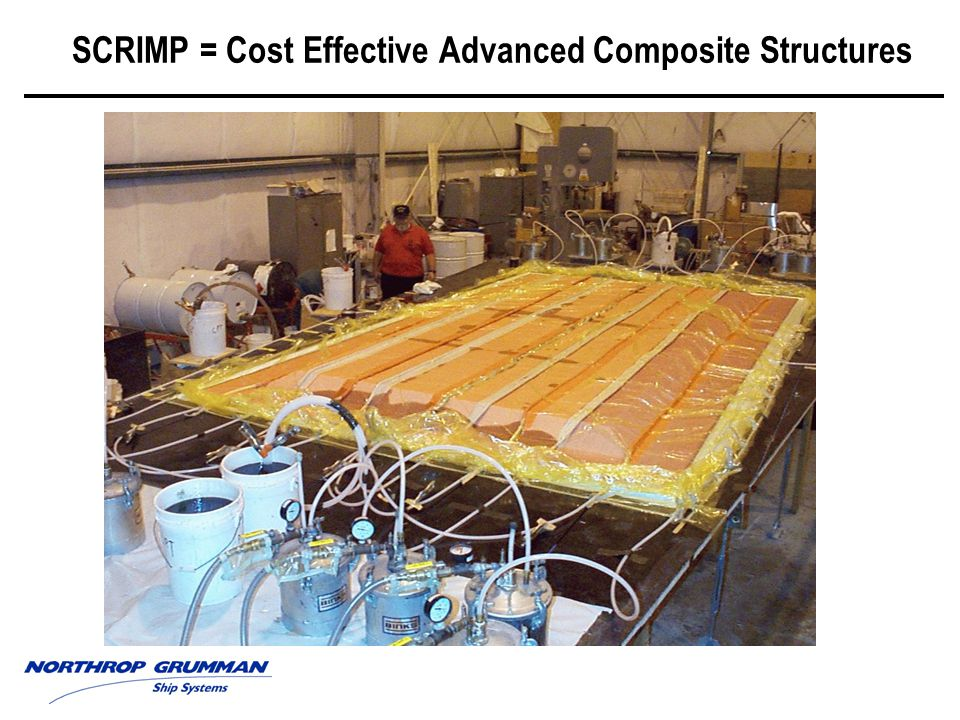 SCRIMP = Cost Effective Advanced Composite Structures