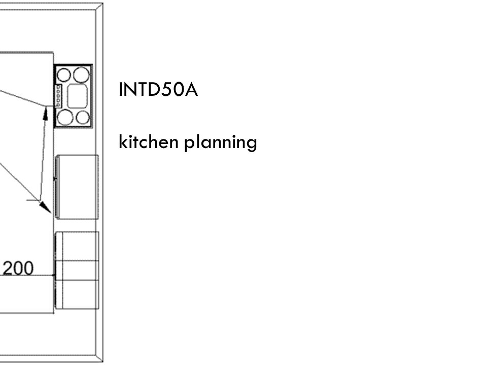 INTD50A kitchen planning