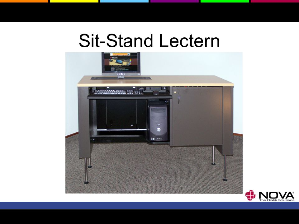 Sit-Stand Lectern