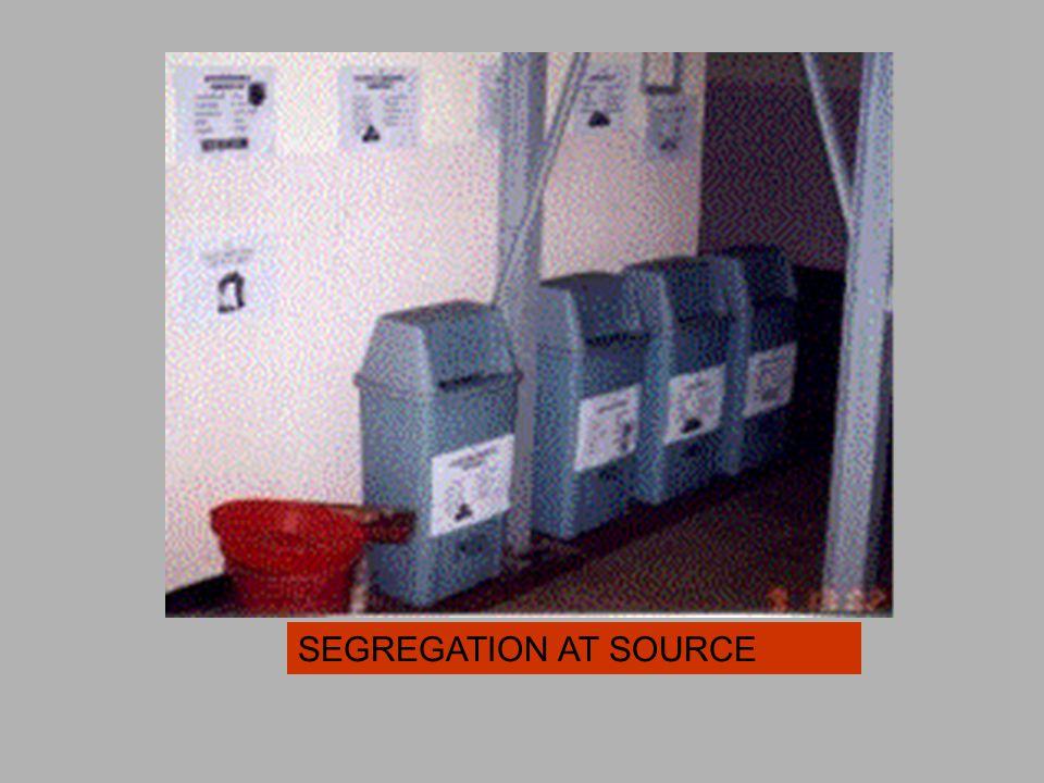 SEGREGATION AT SOURCE
