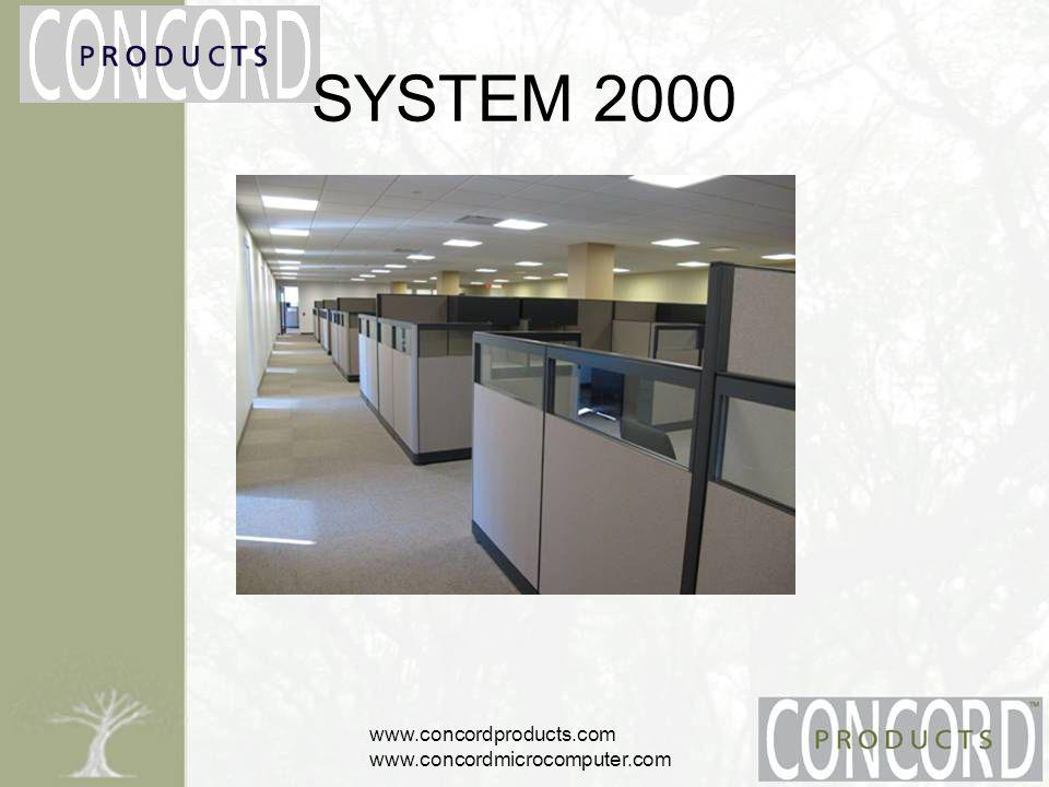 www.concordproducts.com www.concordmicrocomputer.com SYSTEM 2000