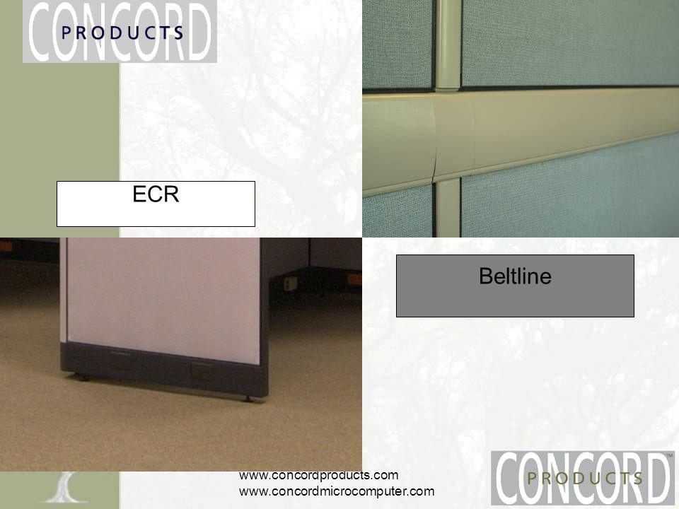 www.concordproducts.com www.concordmicrocomputer.com Beltline ECR