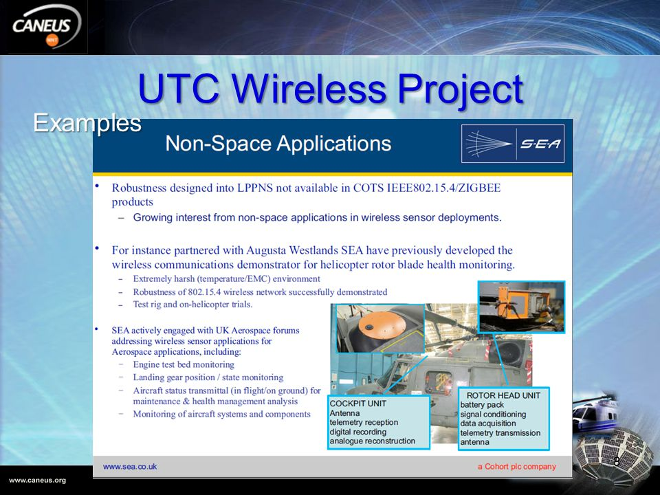 UTC Wireless Project 8 Examples