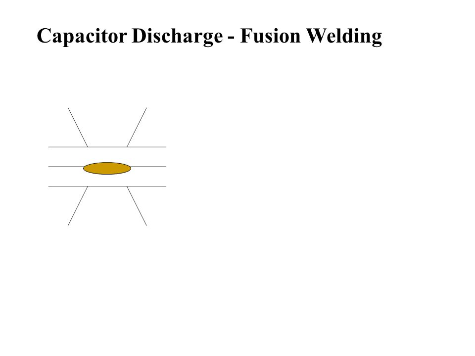 Capacitor Discharge - Fusion Welding