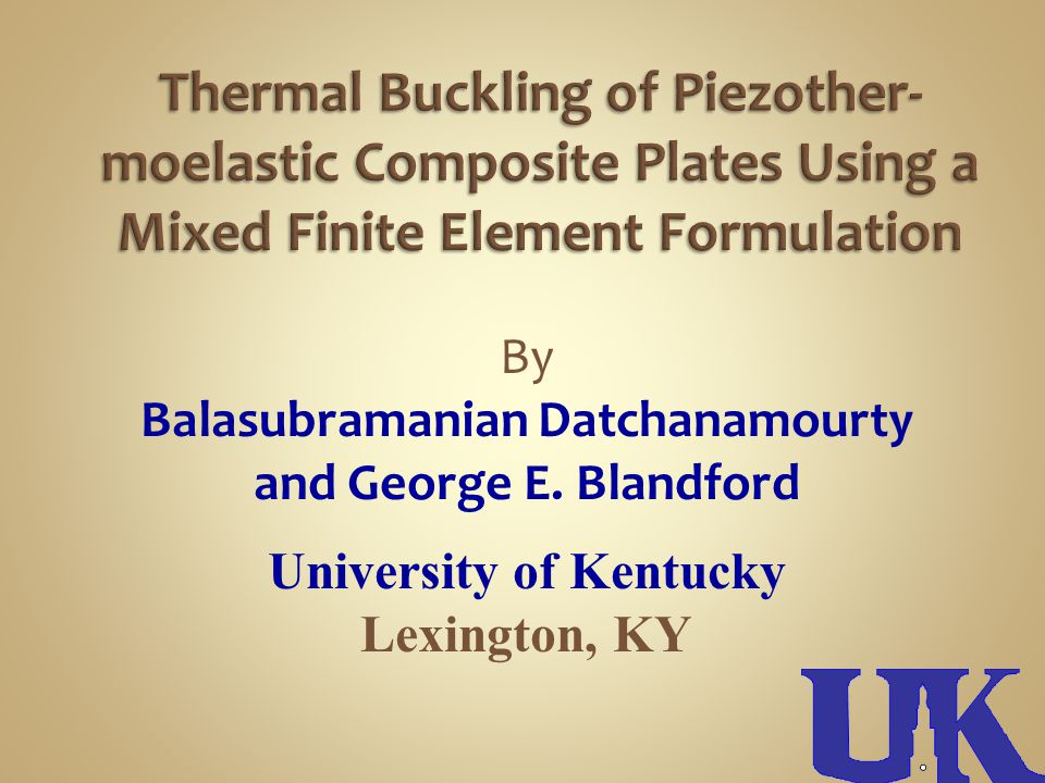 Results have demonstrated the impact of piezoelectric coupling on the buckling load magnitudes by calculating the buckling loads that include the piezoelectric effect (coupled) and exclude the effects (uncoupled).