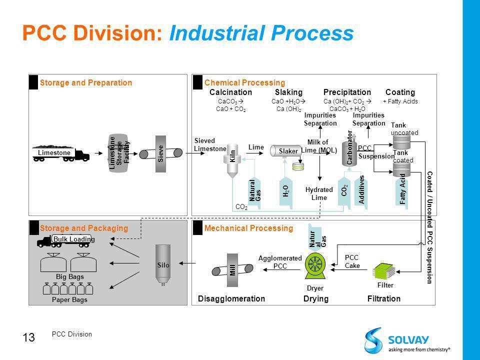 13 PCC Division: Industrial Process PCC Division