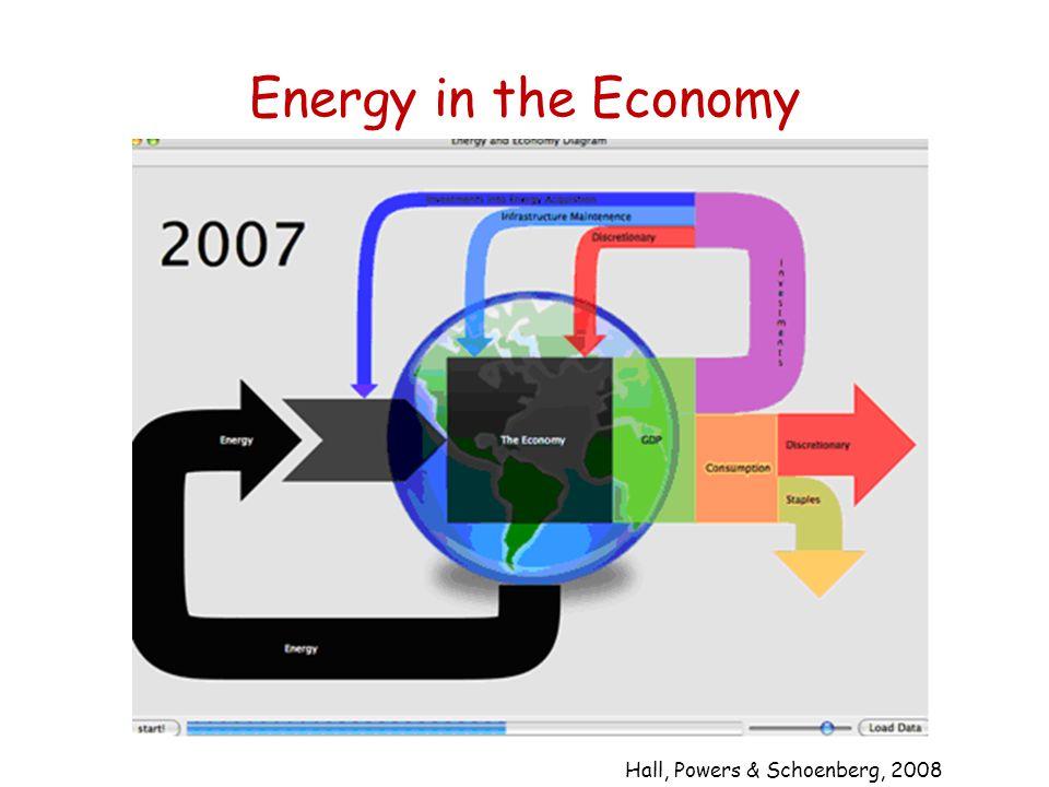 Energy in the Economy Hall, Powers & Schoenberg, 2008