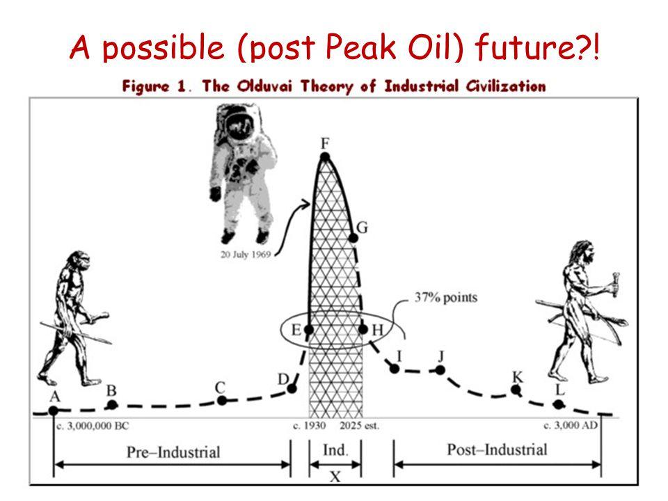 A possible (post Peak Oil) future !