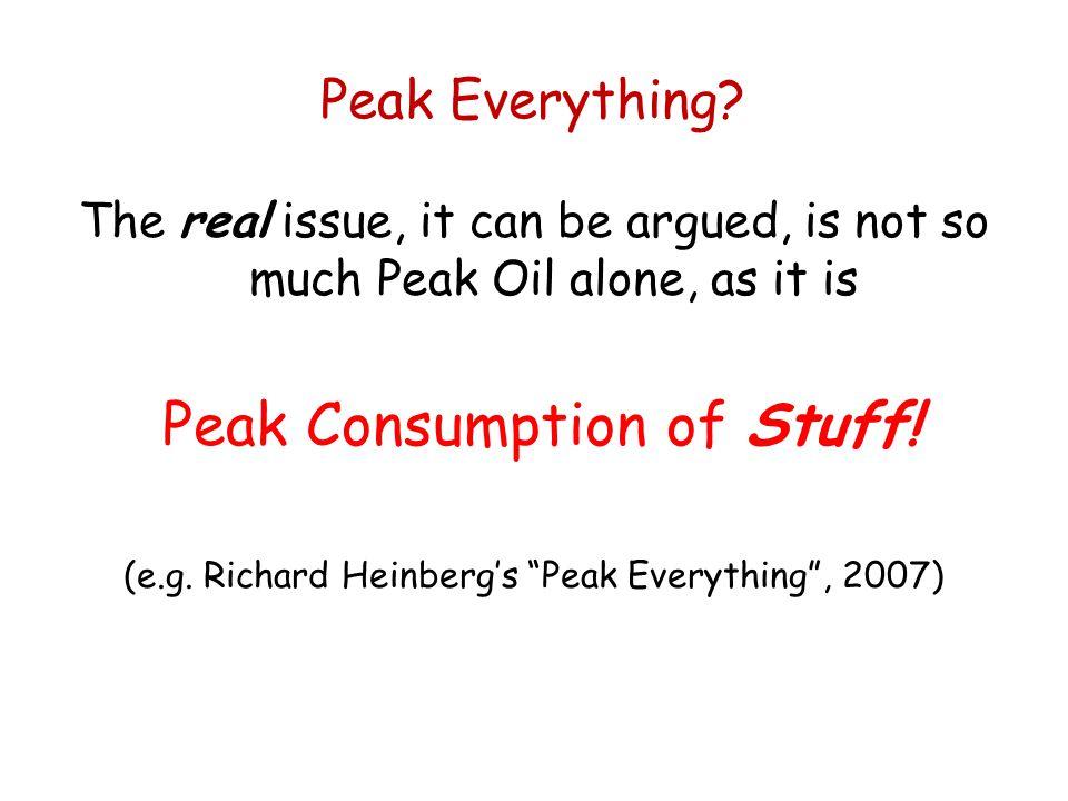Peak Everything.