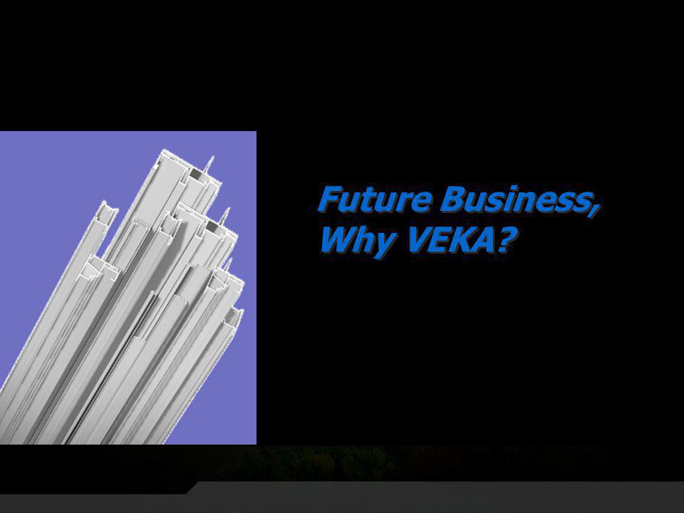 Future Business, Why VEKA?