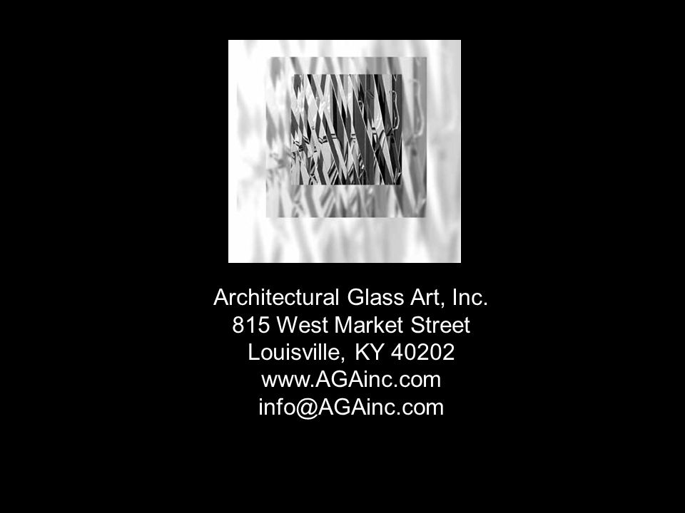 Architectural Glass Art, Inc.