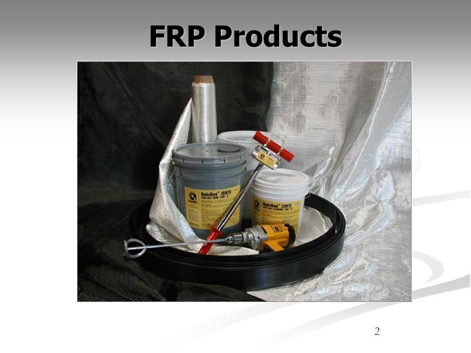 Fiber Reinforced Polymer (FRP) Polymer Resin Matrix Reinforcing Fiber (Glass, Carbon, Kevlar, etc.) Interphase Coupling Agent Why is it called FRP.