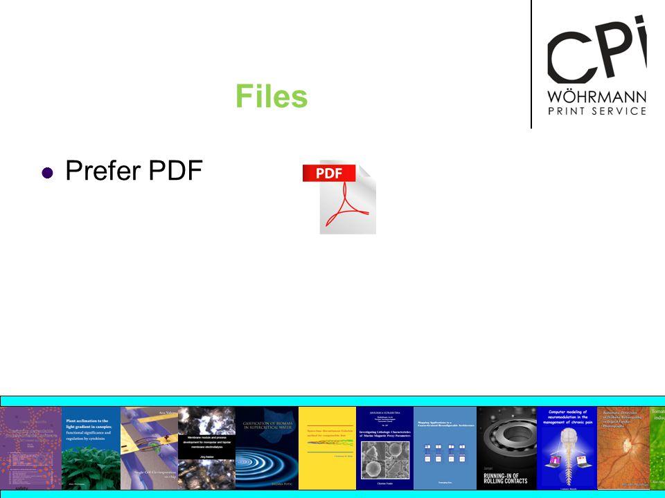 Prefer PDF