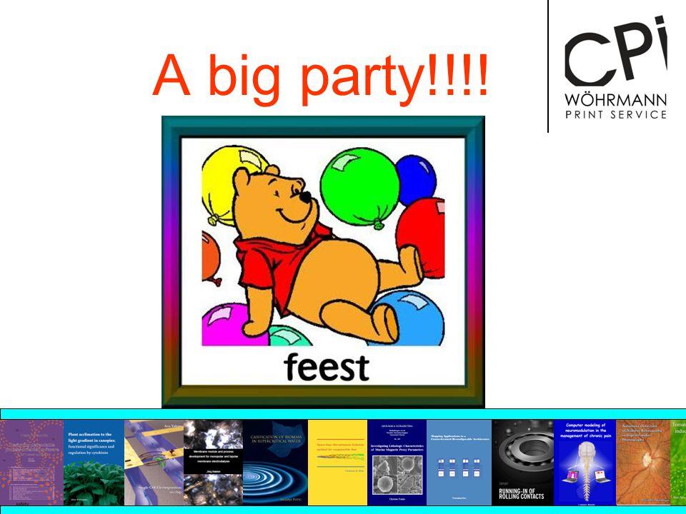 A big party!!!!