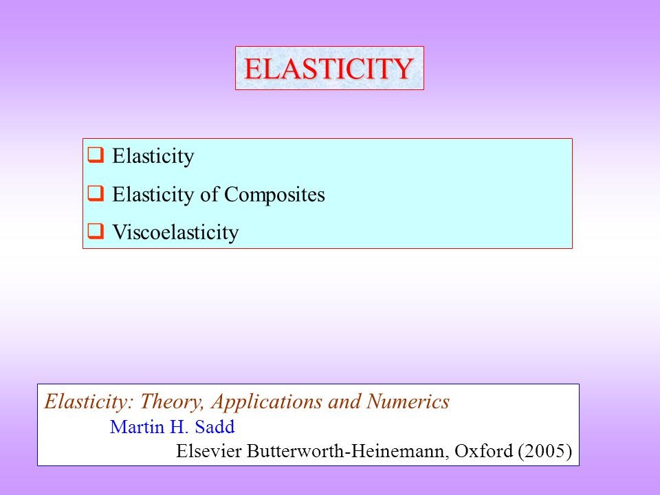 Bonding and Elastic modulus Materials with strong bonds have a deep potential energy well with a high curvature high elastic modulus Along the period of a periodic table the covalent character of the bond and its strength increase systematic increase in elastic modulus Down a period the covalent character of the bonding in Y On heating the elastic modulus decrease: 0 K M.P, 10-20% in modulus Along the period LiBeBC diamond C graphite Atomic number (Z)34566 Youngs Modulus (GN / m 2 )11.528944011408 Down the row C diamond SiGeSnPb Atomic number (Z)614325082 Youngs Modulus (GN / m 2 )1140103995216