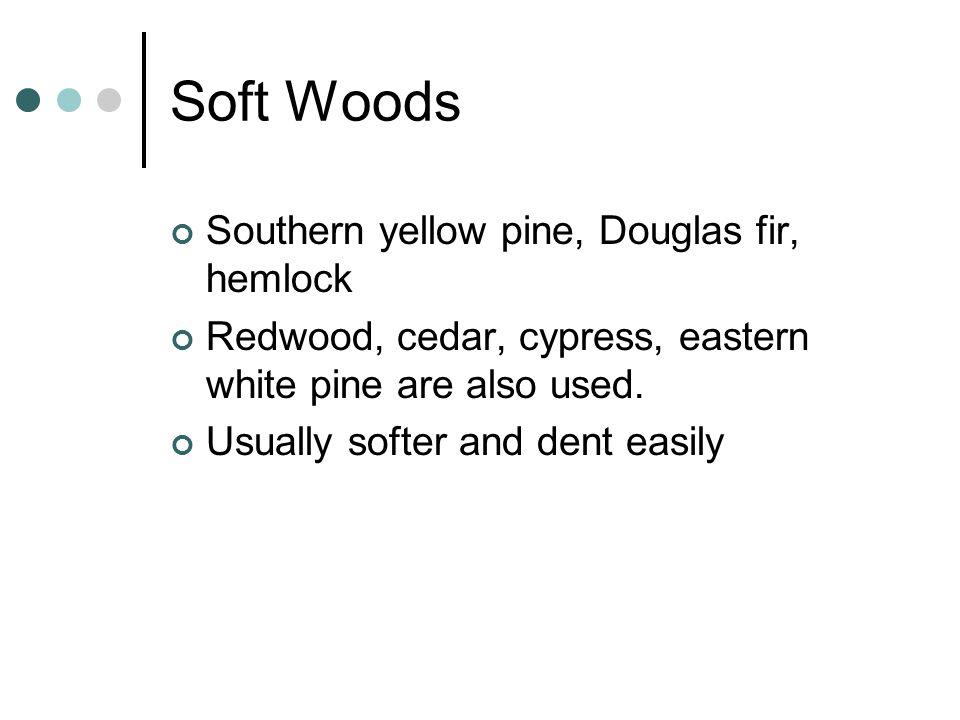 Wood Floor Applications Most common method is STRIP flooring.