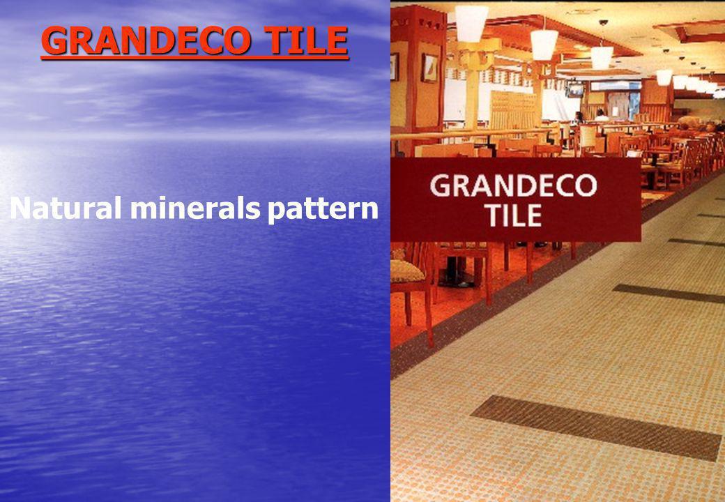 GRANDECO TILE Natural minerals pattern