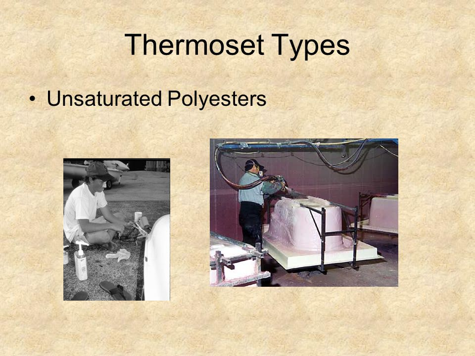 Thermoset Types Unsaturated Polyesters