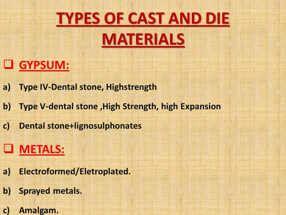 POLYMERS; a)Metal-filled resins or inorganic filled resins.