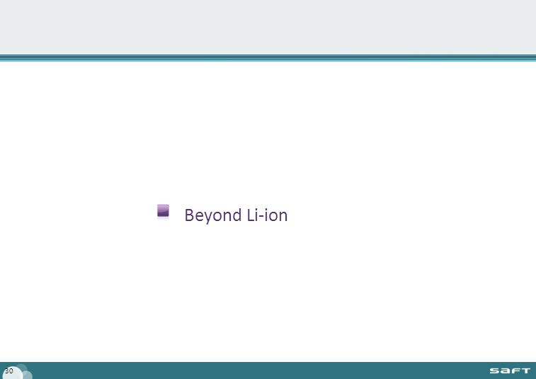 Beyond Li-ion 30