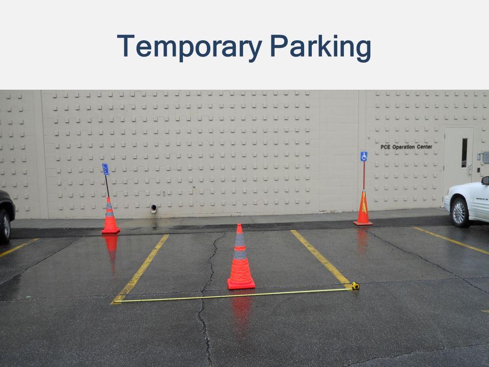 Temporary Parking