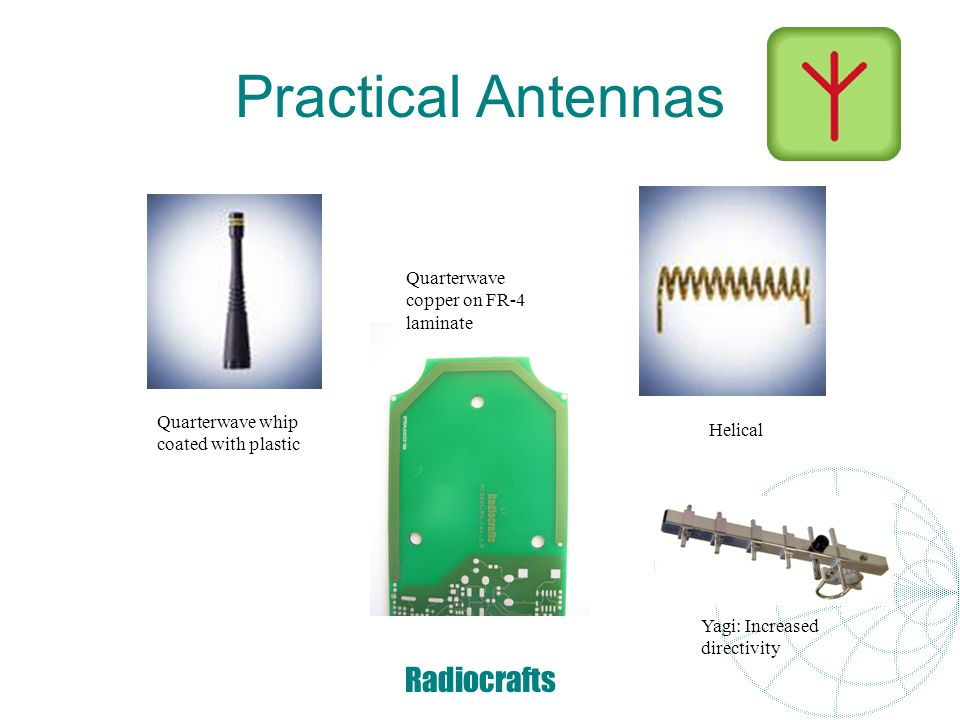 Radiocrafts Helical antenna at 433/868 MHz