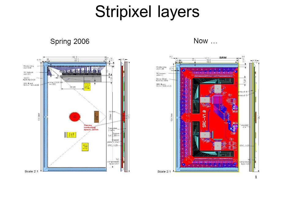 Spring 2006 Now … Stripixel layers
