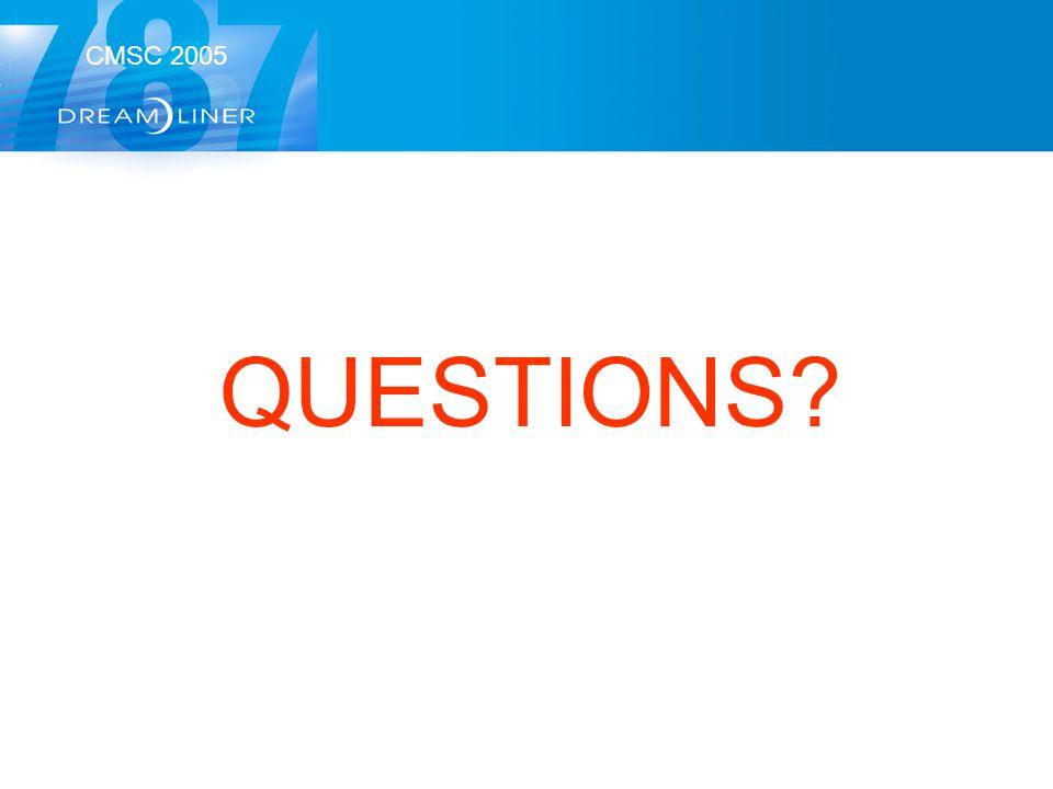 CMSC 2005 QUESTIONS?