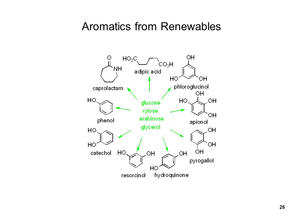 26 Aromatics from Renewables