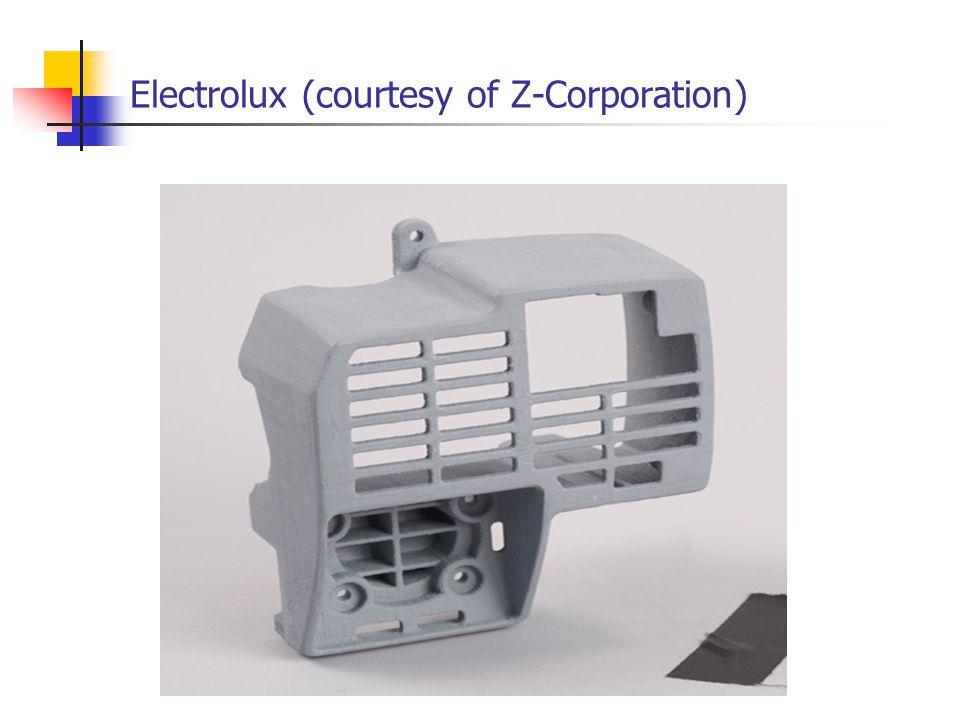 Electrolux (courtesy of Z-Corporation)