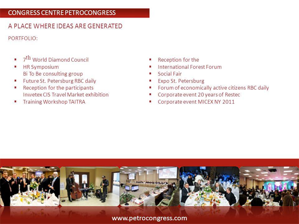 PORTFOLIO: 7 World Diamond Council HR Symposium Bi To Be consulting group Future St.